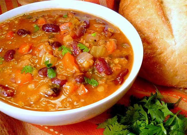Przepis Dnia Zupa Meksykańska